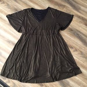 Torrid Butterfly Sleeve Dress